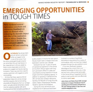 Emerging Opportunities in Tough Times