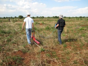 GPR surveying prior to the large scale industrial development of a site in Lusaka