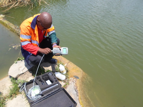 Preparing for a water monitoring survey