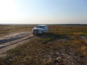 Assessing a remote area of NW Zambia.
